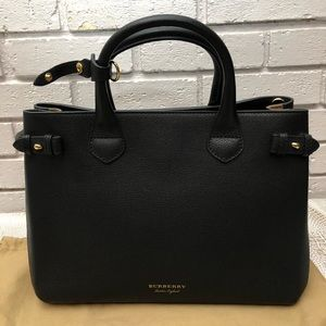 Burberry Banner in Leather and House Check Tote